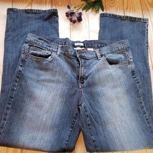 Liz&Co Blue Stretch Jeans 14